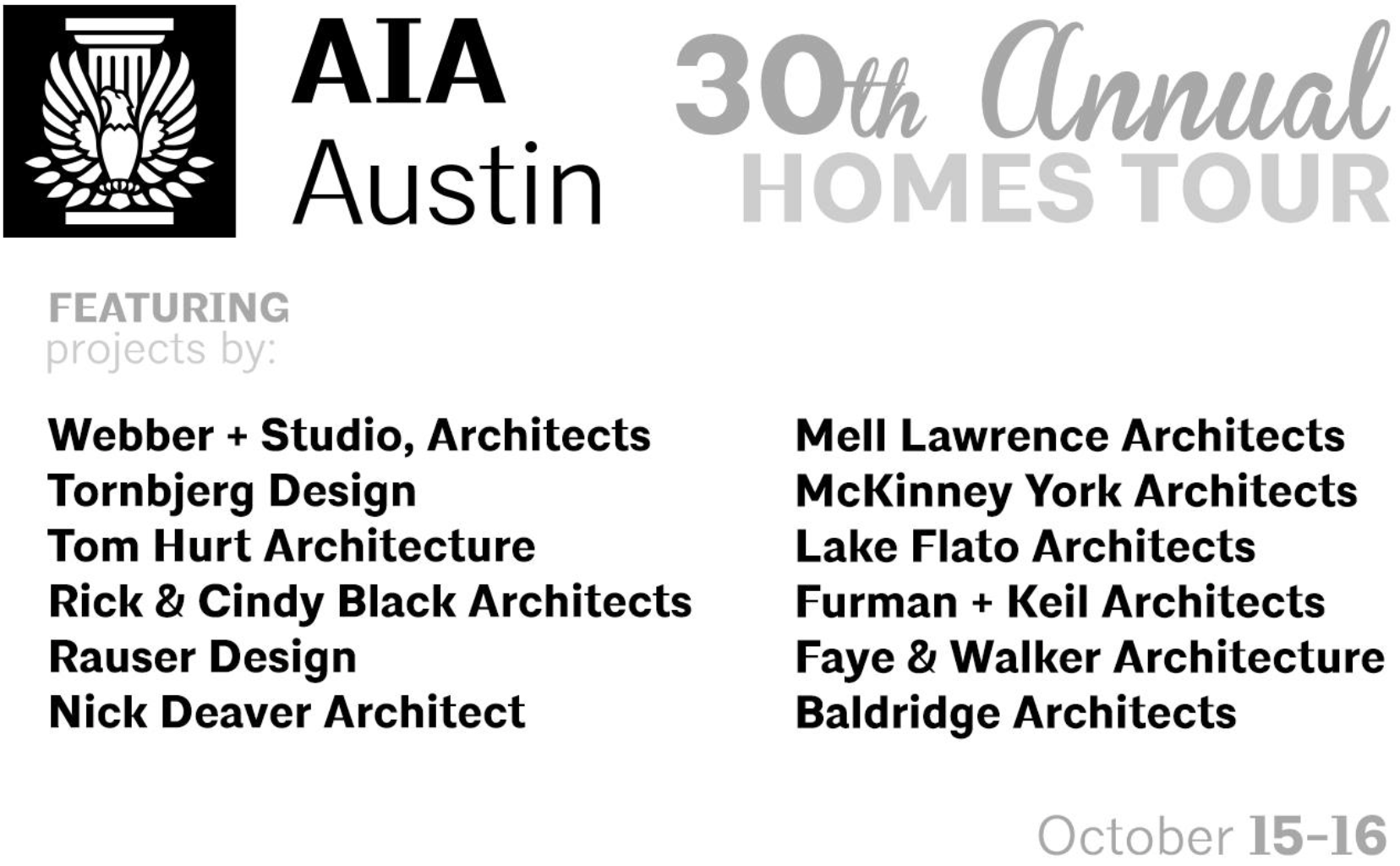 2016 AIA Homes Tour